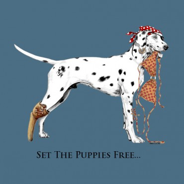 SET THE PUPPIES FREE